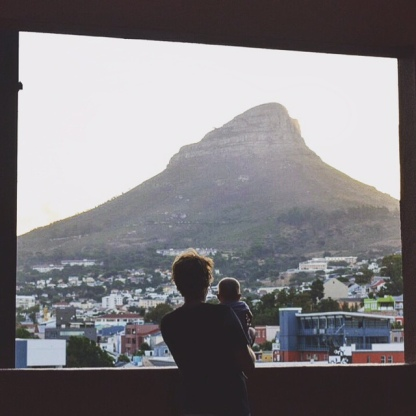 Lion's Head from our Airbnb